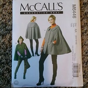 McCall's Cloak Sewing Pattern